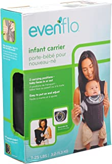 Evenflo Infant Creamsicle Carrier, Black [DEV-08411437]