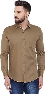 VATASO Men's Slim Fit Casual Cotton Full Sleeves Shirts