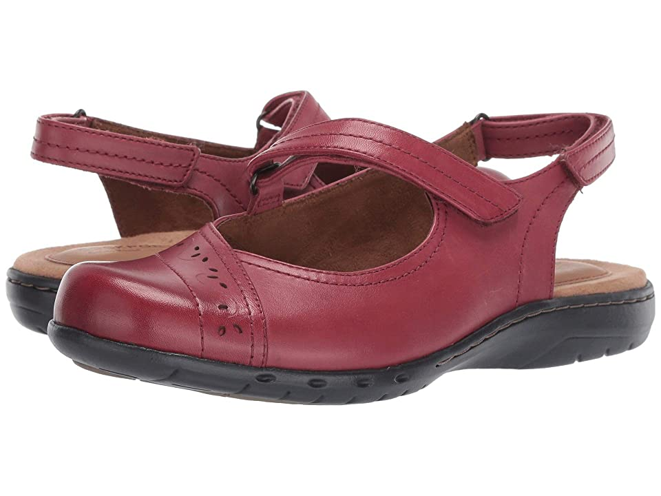 Rockport Cobb Hill Collection Penfield Sling (Bordeaux) Women