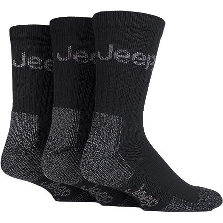 Jeep Men's JM273 3 Pair Luxury Terrain Socks