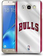 Head Case Designs Oficial NBA Jersey Chicago Bulls Carcasa rígida Compatible con Samsung Galaxy J5 (2016)