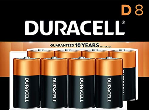Duracell - CopperTop D Alkaline Batteries with recloseable package - long lasting, all-purpose D battery for househol...
