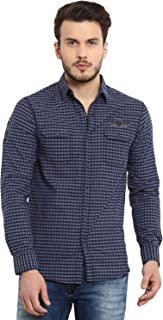 a6326a28 Mufti Men's Shirts Online: Buy Mufti Men's Shirts at Best Prices in ...