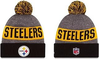 New Era Men's Pittsburgh Steelers 2016 Sideline Sport Knit Hat