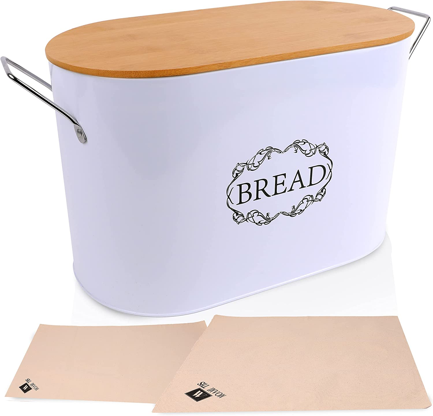 MoamiTHS Max 48% OFF Bread Box - Container with Bamboo Lid High quality Kitchen for