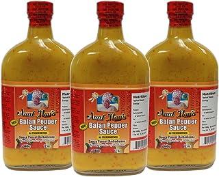 Aunt May's Hot Bajan Pepper Sauce 12 Oz (Pack of 3)