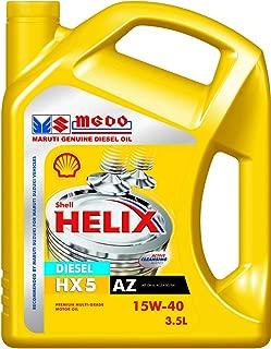 Shell Helix HX5 15W-40 API CH4 Mineral Engine Oil (3.5 L)