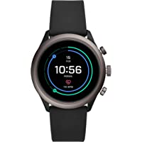 Fossil Gen 4 Sport Metal and Silicone Touchscreen 43mm Men's Smartwatch with Heart Rate, GPS, NFC, and Smartphone Notifications (multiple colors)