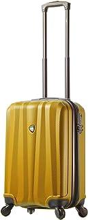 "Mia Toro Italy Pozzi Hardside Spinner 20"" Carry-on, Orange (Orange) - M1216-20in-ORG"