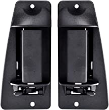faersi Outside Exterior Door Handle Rear Driver & Passenger Side for 1999 2000 2001 2002 2003 2004 2005 2006 2007 Chevy Silverado GMC Sierra Extended Cab Pickup Truck 15758172 15758171