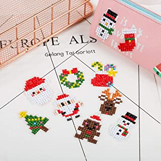 Christmas Sticker DIY 5D Diamond Painting Kits Painting by Number Kits Arts and Crafts for kids & Adults