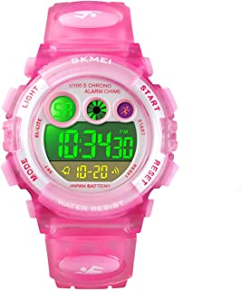 Kids Digital Sport Watch Outdoor Waterproof Watch with Alarm for Child Boy Girls Gift LED Kids Watches