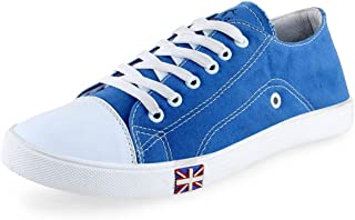NYN Men's Lace-up Casual Shoes (Sky Blue)