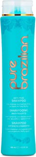 Pure Brazilian - Anti Frizz Daily Shampoo - Salt-Free, Color Safe, With Keratin, Argan Oil, and Acai (13.5 Fl. Ounces / 40...