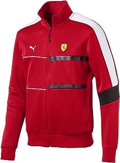 c9094e70cfd70 PUMA Blouson de survêtement Ferrari T7 pour homme Rosso Corsa XXL
