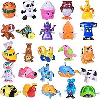 Wind up Toys 25 قطعه اسباب بازی حیوانات اهلی مخصوص هدایا برای کودکان و نوجوانان تولد کودکان (بیش از 2 روز)