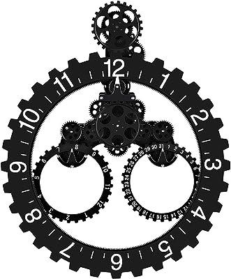 Amazon Com Sevenup Gear Clock Wall Premium Plastic And Metal Parts