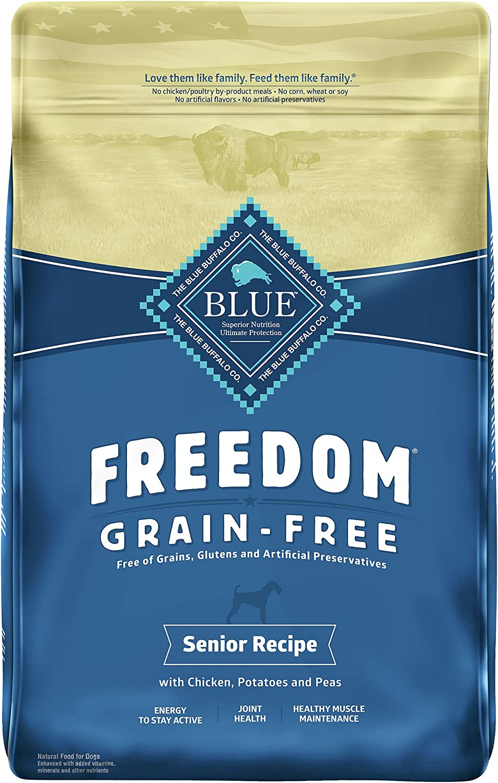 Blue Buffalo Freedom Senior Chicken Recipe