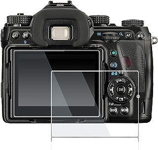 debous Screen Protector Compatible Pentax K-1 Pentax K-1 Mark ii,Anti-Finger Tempered Glass Hard Protective Shield for Pentax K-1 K1 Pentax K-1 Mark ii Full Frame DSLR Camera (2pack)