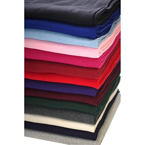 a9dc5d55793 Neotrims Cotton Mix Lycra Type Stretch Knit Rib Fabric to Trim Garments,  Waistbands, Cuffs