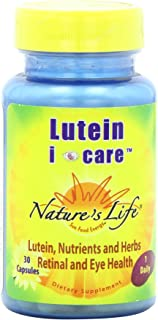 Nature's Life Lutein I Care Capsules, 30 Count