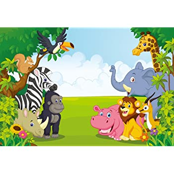 YEELE Outdoor Camping Backdrop Safari Park Hiking Adventure in Nature Photography Background 10x10ft Kids Birthday Acting Show Artistic Portrait YouTube Photo Booth Photoshoot Prop Digital Wallpaper