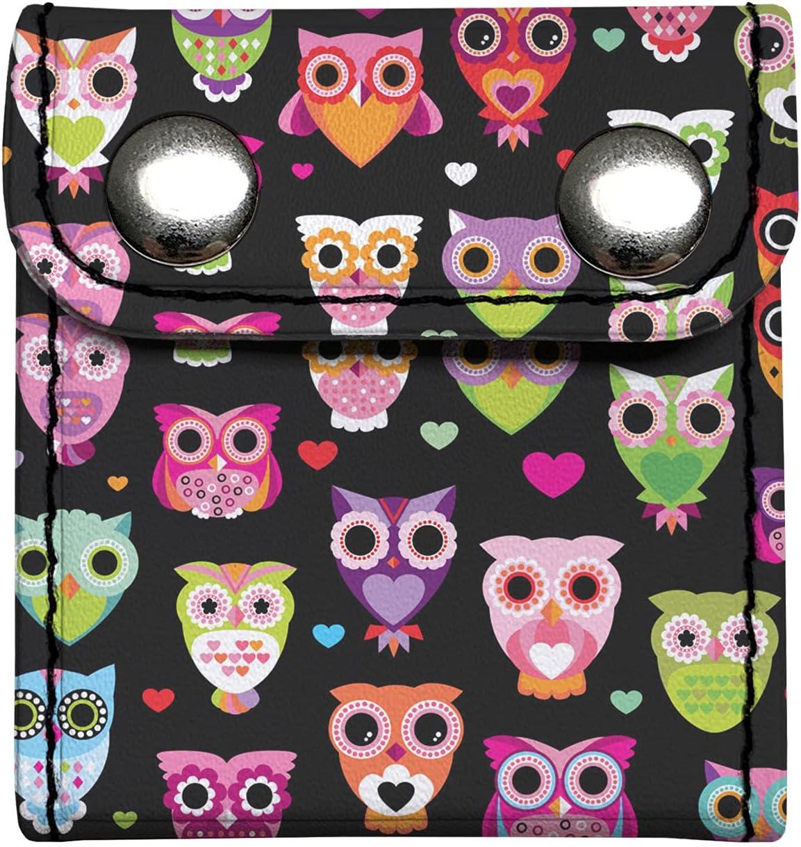 HUISEFOR Cute Kids Seatbelt Adjuster Cartoon Owl Print Shouler Neck Strap Positioner Car Interior Strap Clips Protector Comfort