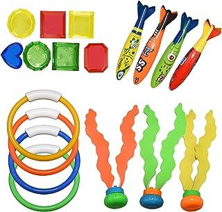 Teaisiy Juguetes de agua y juguetes de baño para niños - Juegos y juguetes al aire libre