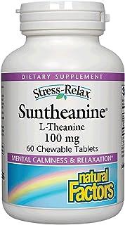 Natural Factors Stress-Relax Mental Calmness, 60 Chewable Tablets
