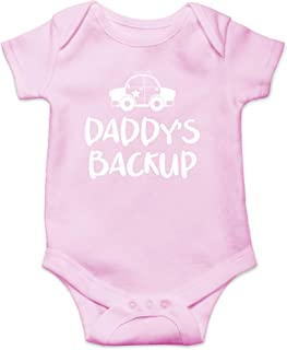 Daddy's Backup - My Dad is My Super Hero and He Can Arrest Your Dad - Cute One-Piece Infant Baby Bodysuit