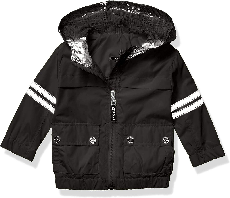 URBAN REPUBLIC Girls Printed Faux Leather Jacket