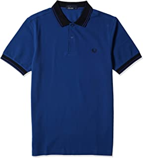 Fred Perry Men's Contrast Rib Pique Shirts