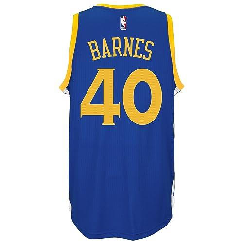 3623c15a4 adidas Harrison Barnes Golden State Warriors NBA Men s Blue Swingman  Climacool Jersey
