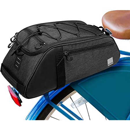 /Funda Soporte para Marco de Carreras bajo Asiento Top Tubo Bolsa para Sill/ín bicicl ETA Accesorios VORCOOL Bicicleta Bolsa de Bicicleta tri/ángulo Marco Bolsa Agua Densidad Bolsillos MTB/ Negro