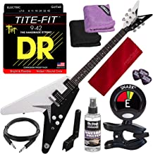 Dean Michael Schenker Standard Electric Guitar with Clip-on Tuner & Accessory Bundle