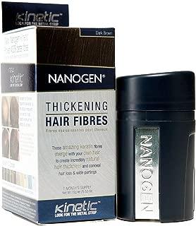 Nanogen Thickening Hair Fibres Dark Brown 15 Gms