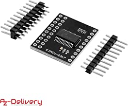 AZDelivery MCP23017 16-bit Bidirectional I/O Port Expander with I2C Serial Interface Module Including E-Book!
