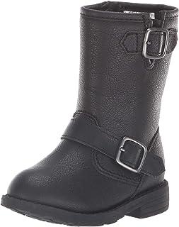 Carter's Kids Girl's Aqion3 Black Riding Boot Fashion