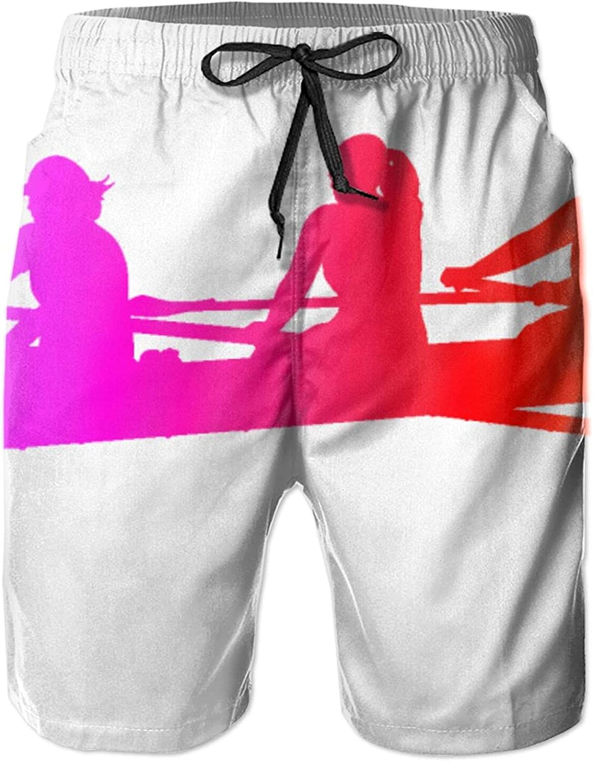 Mens Colorful Rowing Boat Dragon Swim In stock Short Over item handling Dry Trunk Quick