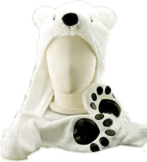 Best polar bear hats with paws Reviews