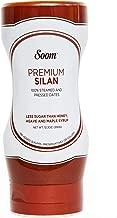 Soom Foods Silan Date Syrup - Vegan, Refined Sugar-Free, Paleo-Friendly, Gluten-Free, 12.3 Oz Squeeze Bottle