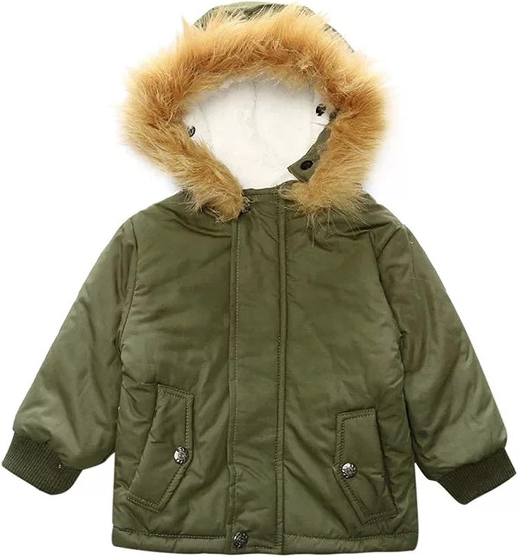 TAOJIAN Baby Boys Gentleman Fall &Winter Warm Gown Coat Hooded Jacket Outerwear