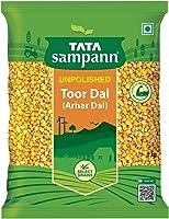 Tata Sampann Unpolished Toor Dal/ Arhar Dal, 1kg