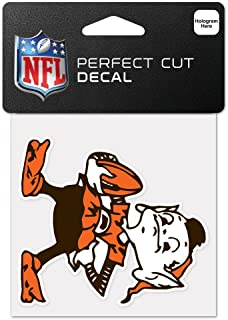 WinCraft NFL Cleveland Browns 63042011 Perfect Cut Color Decal, 4