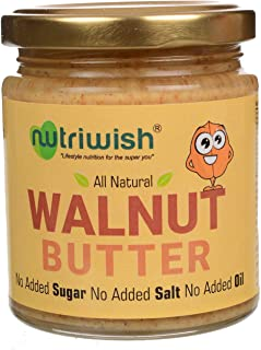 Nutriwish Walnut Butter Bottle, 200 g