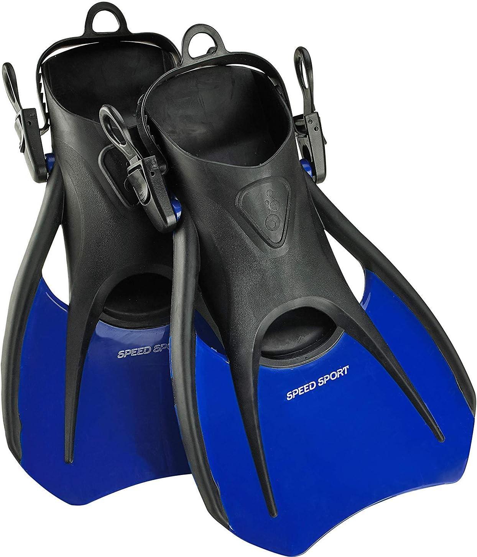 Phantom Aquatics Open Heel Sport Fin - BL-MD