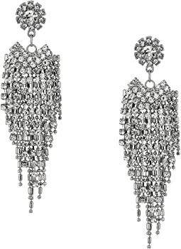 Rhinestone Drop Chandelier Earrings