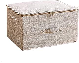 収納ボックス 収納ケース ふた付き 折りたたみ 大容量 カラーボックス 整理箱 小物入れ おもちゃ箱 書類 衣類 クローゼット収納 押入れ収納(L ベージュ)