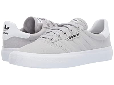 adidas Skateboarding 3MC J (Light Greay Heather Solid Grey/Footwear White/Core Black) Men