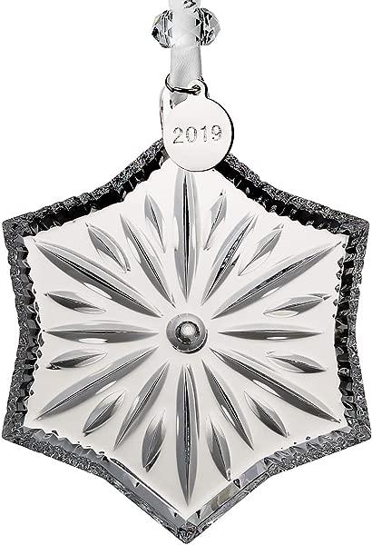 Waterford Crystal Snowcrystal Ornament 3 7